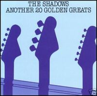 THE SHADOWS - ANOTHER 20 GOLDEN (GUITAR) GREATS CD*NEW*