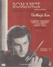 Romance - The Magic Bow - 1946 sheet music - Piano Solo