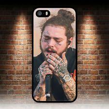 Post Malone rapero teléfono caso para IPHONE 4 4S 5 5S SE 5C 6S 7 8 Plus X 6