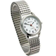 Ravel Ladies Super-Clear Quartz Watch with Expanding Bracelet sil #40 R0232.11.2