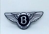 Bentley Motors Logo Embroidered Iron on Sew on Patch