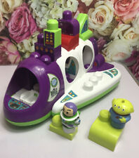 Mega Bloks Disney Buzz Lightyear Toy Story Spaceship with Buzz Alien With Extras