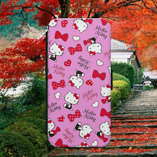HELLO KITTY PATTERN/HEARTS/LOVE/FLIP WALLET PHONE CASE FOR IPHONE/SAMSUNG/HUAWEI