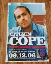 CITIZEN COPE - Every Waking Moment Record Release Promo Poster 2006