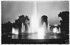 AK, Mannheim, Wasserspiele bei Nacht, 1956