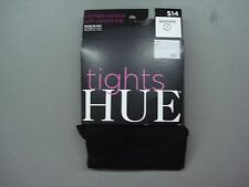 NWT Women's Hue Ultimate Opaque Tights w/ Control Top 1 Pair Size 1 Black #816K