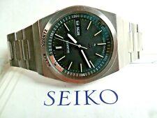 HTF Vintage S/S 1981 Men's Seiko Quartz Alarm Day Date Watch 7223-6019