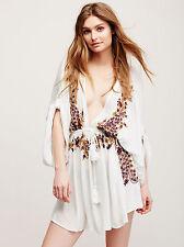 FREE PEOPLE Pretty Pineapple Dress Ivory Combo Size XS Orig. $148 NWT