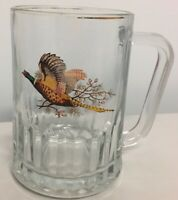 BEER Glass Mug Stein Grouse Pheasant Bird Game Hunting BIRD Quail Turkey
