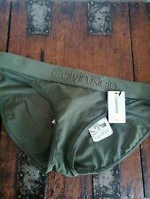 Calvin Klein urban outfitters Lingerie Knickers Forest Green Size small bnwt