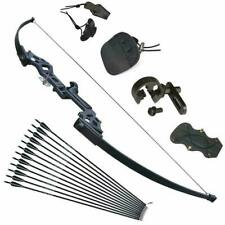 Archery Recurve Bow Takedown 30-40lbs Arrows Adults Set Beginner Right Hand
