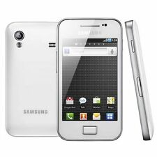 Latest Samsung Galaxy Ace WHITE S5830i Andriod 3G Sim Free Unlocked Mobile Phone