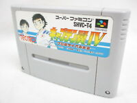 Super Famicom CAPTAIN TSUBASA IV 4  Nintendo Cartridge Only Japan Game sfc