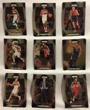 2017-2018 Panini Prizm Basketball Washington Wizards Base Cards Lot You Pick