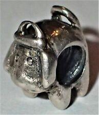 925 Silver Dog Bead ADD TO EUROPEAN STYLE & PANDORA BRACELETS 1.62 Grams