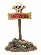 Department 56 Beware of the Boneyard, Sign #4047607 Halloween New
