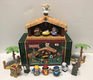 Fisher-Price Little People Christmas Story Nativity Set Original Box MISSING Two