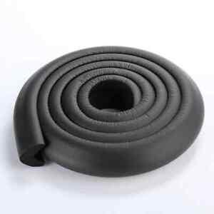 2 m Kantenschutzband Schutz Baby Kind Sicherung Tisch selbstklebend schwarz