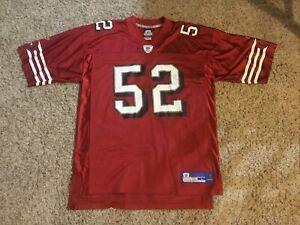 49ers NFL Reebok Team Jersey Adult Large Authentic Patrick Willis. Hardly Worn!