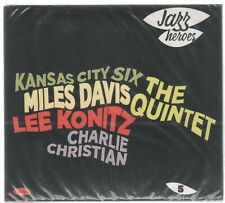 JAZZ HEROES--CD---Mails Davis,Lee Konitz ,Charlie Christian u.s.w
