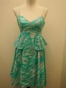Country Road Green Summer Dress Size 12