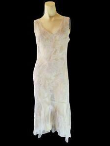 VTG 90s Newport News Women's Sheer Sexy Dress Gatsby Lingerie Victorian