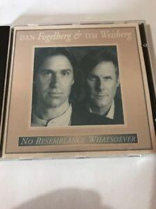 No Resemblance Whatsoever by Tim Weisberg/Dan Fogelberg (CD, Sep-1995, Giant (U…