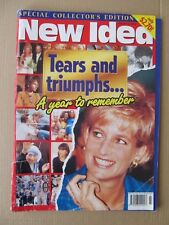 Vintage New Idea Magazine, Jan 3 1998, A year to remember (1997) Dianna