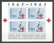Suisse 1963 BL 19 ** Croix-Rouge Internationale centenaire