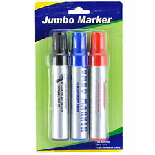 Marker 3Pc Set Jumb Permanent (6-Pack) X Others Cheap Wholesale Total 18 Pieces
