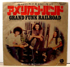"""GRAND FUNK RAILROAD - American Band - Japanese press - 7""""/45 - w/ 2 different PS"""