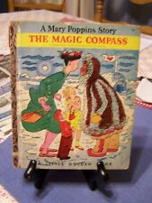 VINTAGE! 1960's Children's Little Golden Book~THE MAGIC COMPASS Mary Poppins 1st