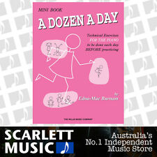 A Dozen a Day - Mini - Technical Excercises - Piano Book By Edna-Mae Burnam
