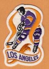 OLD LOS ANGELES KINGS PLAYER 4 1/2 JERSEY PATCH Unsold Stock