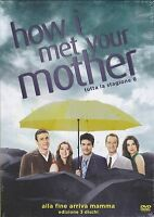 3 Dvd Box Cofanetto «HOW I MET YOUR MOTHER ♦ STAGIONE 08» nuovo 2013