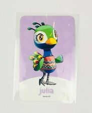 Amiibo NFC Karte Animal Crossing Julia