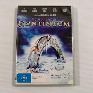 Stargate Continuum (DVD 2008) Christopher Judge Region 4