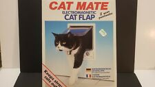 Cat Mate door flap electromagnetic small dog new in box transparent lockable