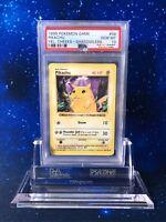 GEM MINT SHADOWLESS PSA 10 Pikachu Yellow Cheeks 58/102 Base Set No 1st 1. P005