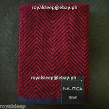 NAUTICA Topmast Bath Towel **Brand New** bath body face washcloth