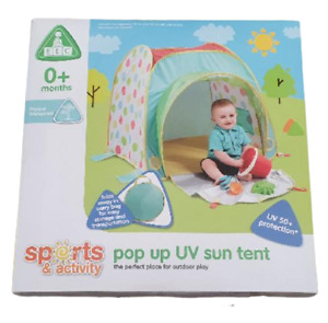 early learning centre tent pop up uv 50+ sun tent 0 months elc