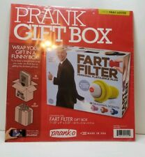 Prank Pack - Wrap Your Real Gift in a Prank Funny Holiday Gift Box Fart Filter!!