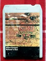 Alice Cooper - School's Out - 8 Track - Warner Bros. Records Inc.