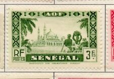 Senegal 1935-40 Early Issue Fine Mint Hinged 3F. 193294