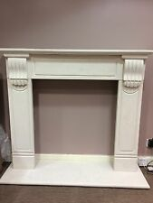 Fireplace--variety of Limestone & Marble Fireplaces (Hand Crafted)