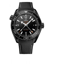 Omega Planet Ocean Master Chronometer GMT 45.5mm Deep Black-Unworn W/Box & Paper