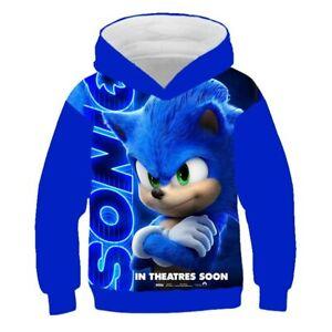 Fashion 3D Printing  ChildrenAnime Cartoons Hoodie Sweatshirt Suit Jackets UK