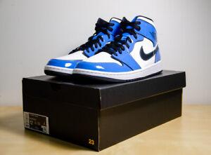 Nike Air Jordan 1 Mid SE Signal Blue | Size 12 | DD6834-402