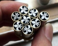 Mosaic pin Rivets 8mm diameter Brass tube 45mm nail DIY Knife Handle Pins - 1 pc