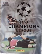 CHAMPIONS LEAGUE 2000/2001 EMPTY STICKER ALBUM PANINI BRAND NEW EXCELLENT